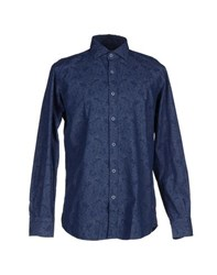 Massimo Rebecchi Denim Denim Shirts Men