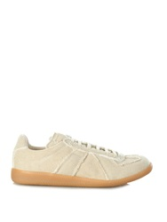 Maison Martin Margiela Replica Canvas Low Top Trainers