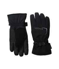 Spyder Traverse Gore Tex Ski Glove Black Polar Ski Gloves Brown