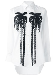Dsquared2 Palm Tree Shirt White