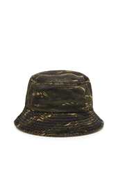 Forever 21 Camo Bucket Hat Green Brown