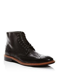 Gordon Rush Stafford Boots Black Pebble