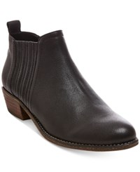 Steve Madden Women's Tallie Ankle Booties Women's Shoes Black Leather