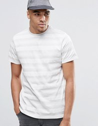 New Look T Shirt With Aztec Stripe Print In White Off White