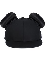 Piers Atkinson Bun Hair Cap Black