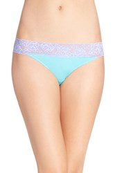 Betsey Johnson Women's 'Forever Perfect' Hipster Briefs Mint Magic