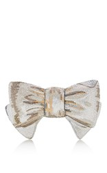 Judith Leiber Couture Bow Clutch Multi