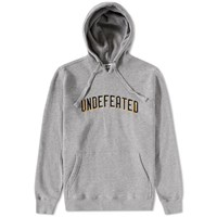 Undefeated Emblem Pullover Hoody Grey
