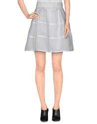 Felipe Oliveira Baptista Knee Length Skirts White