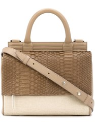 Hayward Mini 'Maggie' Messenger Nude And Neutrals