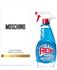 Moschino Fresh Couture Eau De Toilette Spray 3.4 Oz No Color