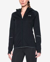 Under Armour Hooded Zip Storm Jacket Black