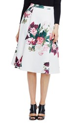 Women's Vince Camuto Floral Midi Skirt