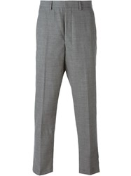 Ami Alexandre Mattiussi Carrot Fit Trousers Grey