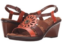 Walking Cradles Lindsey Coral Multi Women's Shoes