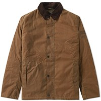 Barbour Steve Mcqueen Sandford Wax Jacket Brown