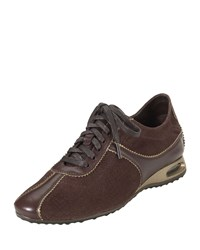 Air Bria Perforated Suede Oxford Chestnut Cole Haan Brown