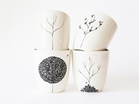 The Four Seasons Cup Set By Baileydoesntbark On Etsy