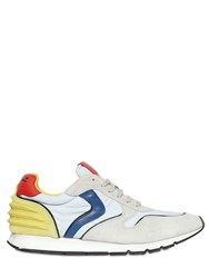 Voile Blanche Liam Power Suede And Coated Nylon Sneakers
