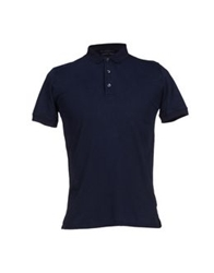 Alpha Massimo Rebecchi Polo Shirts Dark Blue