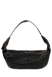 The Row Leather Sling Bag Black