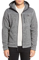 The North Face Men's Gordon Lyons Relaxed Fit Sweater Fleece Hoodie Tnf Medium Grey Heather