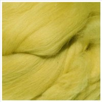 Tjockt Fat Loop Merino Wool Scarf Bright Yellow