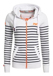 Superdry Sun And Surf Zip Hoodie White