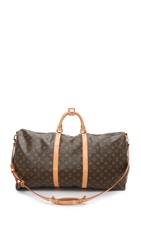Wgaca 2004 Louis Vuitton Keepall 60 Duffle Previously Owned Monogram
