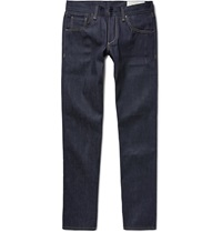 Rag And Bone Two Straight Leg Raw Selvedge Denim Jeans Blue