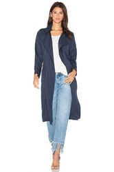 Blaque Label Duster Coat Navy