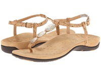Vionic With Orthaheel Technology Lizbeth Gold Cork Women's Sandals