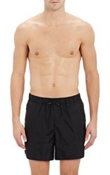 Acne Studios Perry Swim Trunks Black