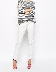 Vivienne Westwood Anglomania Jeans Ar Skinny Jeans With Logo Back White