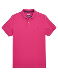 Joules Woody Slim Fit Polo Shirt Dark Ruby