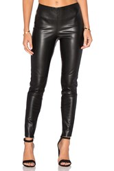 Deby Debo Karen Faux Leather Pant Black