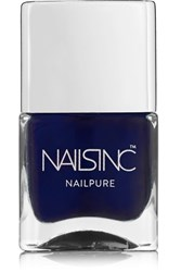 Nails Inc Nailpure Polish Prince Arthur Road Navy