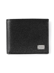 Dolce And Gabbana Small Card Holder Black