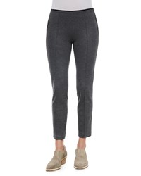 Rag And Bone Rag And Bone Polly Cropped Wool Pants Charcoal Grey Size 10