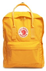 Fjall Raven Fj Llr Ven 'K Nken' Water Resistant Backpack Yellow Warm Yellow