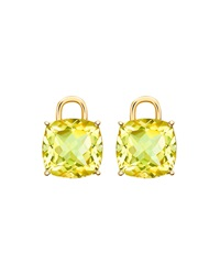 Eternal 18K Gold Lemon Quartz Earring Charms Kiki Mcdonough