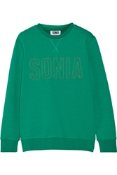 Sonia Rykiel Embroidered French Terry Sweatshirt
