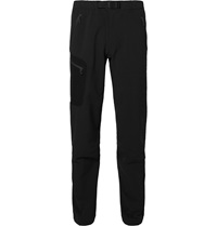 Arc'teryx Gamma Ar Slim Fit Burlytm Softshell Trousers Black