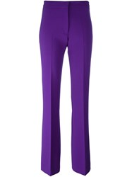 Victoria Beckham Tailored Trousers Pink Purple