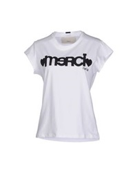 .. Merci Merci T Shirts White