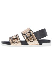Jeannot Sandals Platino Gold