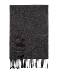 Bloomingdale's The Mens Store At Bloomingdales Cashmere Solid Scarf Charcoal