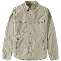 Save Khaki Multi Pocket Shirt Jacket Neutrals