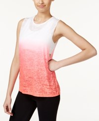 Ideology Dip Dyed Burnout Tank Top Only At Macy's Crossfit Coral