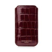 Aspinal Of London Samsung Galaxy S6 Sleeve Brown